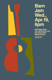 Barn Jam Wed April 19 6pm | Gil Shuler Graphic Design Barn Jam Wed July 13 6pm Gil Shuler Graphic Design Jan 24 Feb 8 Apr 27 Aug 3 Barnjam2310 The Big Red Barn Jam April 19 Jan18 Oct At Awendaw Swee Outpost Charleston Events Pinterest David Gilmour Richard Wright Youtube