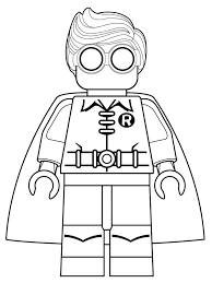 Lego Super Heroes Coloring Page Free Printable Pages In Superhero