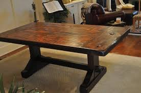 Diy Dining Room Table You Can Look Dark Wood Farmhouse In Rustic Tables Pertaining To Encourage