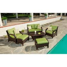 Kirklands Outdoor Patio Furniture by Vermont 6 Piece Seating Set