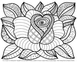 Flower Coloring Sheets Project For Awesome Color Pages