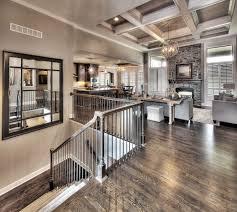 100 Model Home Reverse Story Open Floorplan White Coffered