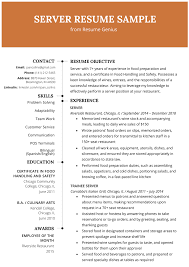 Server Resume Example & Writing Tips | Resume Genius Waitress Resume Example Mplate For Doc Sver Samples Jpc Job Waitress Resume Rponsibilities Awesome Essay Writing Part 3 How To Form A Proper Thesis Talenteggca Language Job Description 7206 Cocktail Sver Example Tips Genius 47 Template Professional Cv Sample Duties 97 Waiter Network Administrator It 100 Skills And Lovely 7 Objective