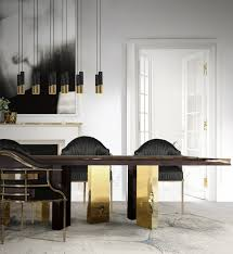 Mid Century Modern Dining Room All In Hanna Suspension Lamp Has Flowing Lines And A Sleek Surface That Mixed Unusual Shaped Arms Create Vintage