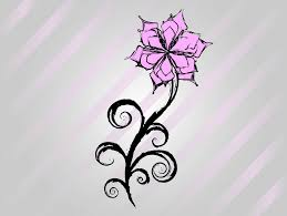 Cool Easy Flower Designs To Draw On Paper Free