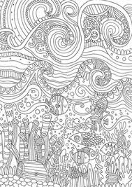 Coloring Page Doodle Flowers Printable By ZentangleHouse
