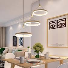 ideal circels führte hängende pendelleuchten für esszimmer küche wohnzimmer moderne led pendelleuchte len led avize