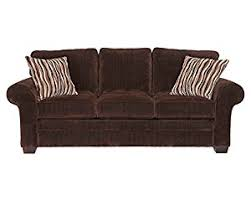 amazon com broyhill zachary sofa brown chocolate kitchen dining