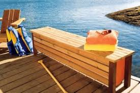 free plans 7 outdoor storage benches to build for your patio