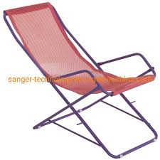 [Hot Item] Fashionable Beach Rocking Chair, Folding Chair With Purple Metal  Frame, Outdoor Chaise Lounge Chair For Beach Or Camping
