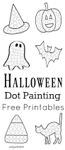 Pre K Halloween Books by Halloween Dot Painting Free Printables Painting Activities Dot
