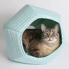Fancy That Designer Cat Beds featuring Clothworks fabric