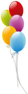 happy birthday balloons clip art transparent
