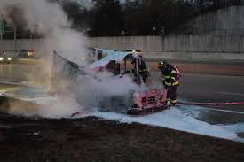 100 Postal Truck Fire Truck Catches Fire On Highway 12 Public Safety