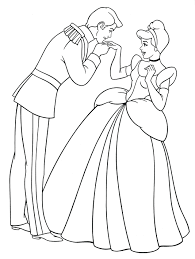 Cinderella Movie 2015 Coloring Pages Pictures Color Princess Games Prince Charming Full Size