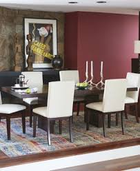 bari white 9 pc dining set table 8 chairs furniture macy s