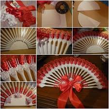 Best View In Gallery Handmade Fan From Plastic Forks Wonderful Diy Disposable Fork With How To Make Flowers Ribbon