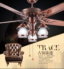 aliexpress buy american country fan light chandelier fan