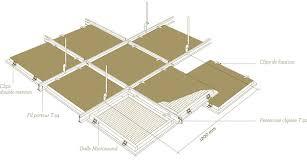 faux plafond dalle 60 x 60 isolation idées