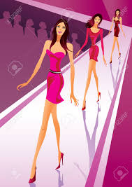 Fashion Clipart Runway Model 11