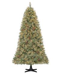 75 Prelit Hallmark Grand Fraser Artificial Christmas Tree Clear
