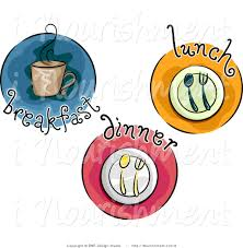 Breakfast Time Icon Clipart 1
