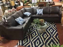 3 Piece Sectional Brown 9 X 9
