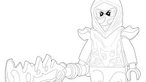 Lego Ninjago Coloring Pages 1 Lloyd Dragon