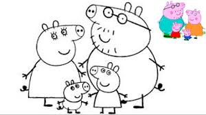 Peppa Pig Coloring Book Best Kids Pages Fun Art Family Activities Videos For