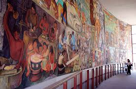 Coit Tower Murals Diego Rivera by Diego Rivera Pan American Unity