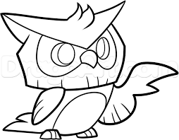 How To Draw An Animal Jam Owl Step By Video Game Characters