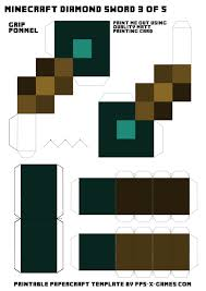 Minecraft Sword Pumpkin Carving Patterns by Facebook
