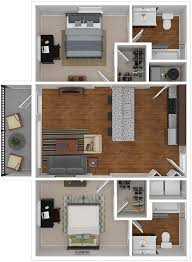 UNC Wilmington Student Housing 2 Bedroom Apartments Lighthouse