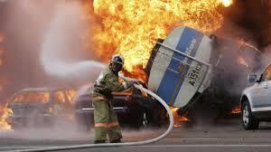 100 Truck Explosion Driver Dies In Almaty Gas Video