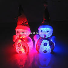 Blinking Christmas Tree Lights by Led Light Christmas Snowman Decoration Led Light Christmas