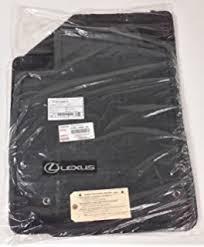 amazon com oem lexus es350 all weather rubber floor mat set 4