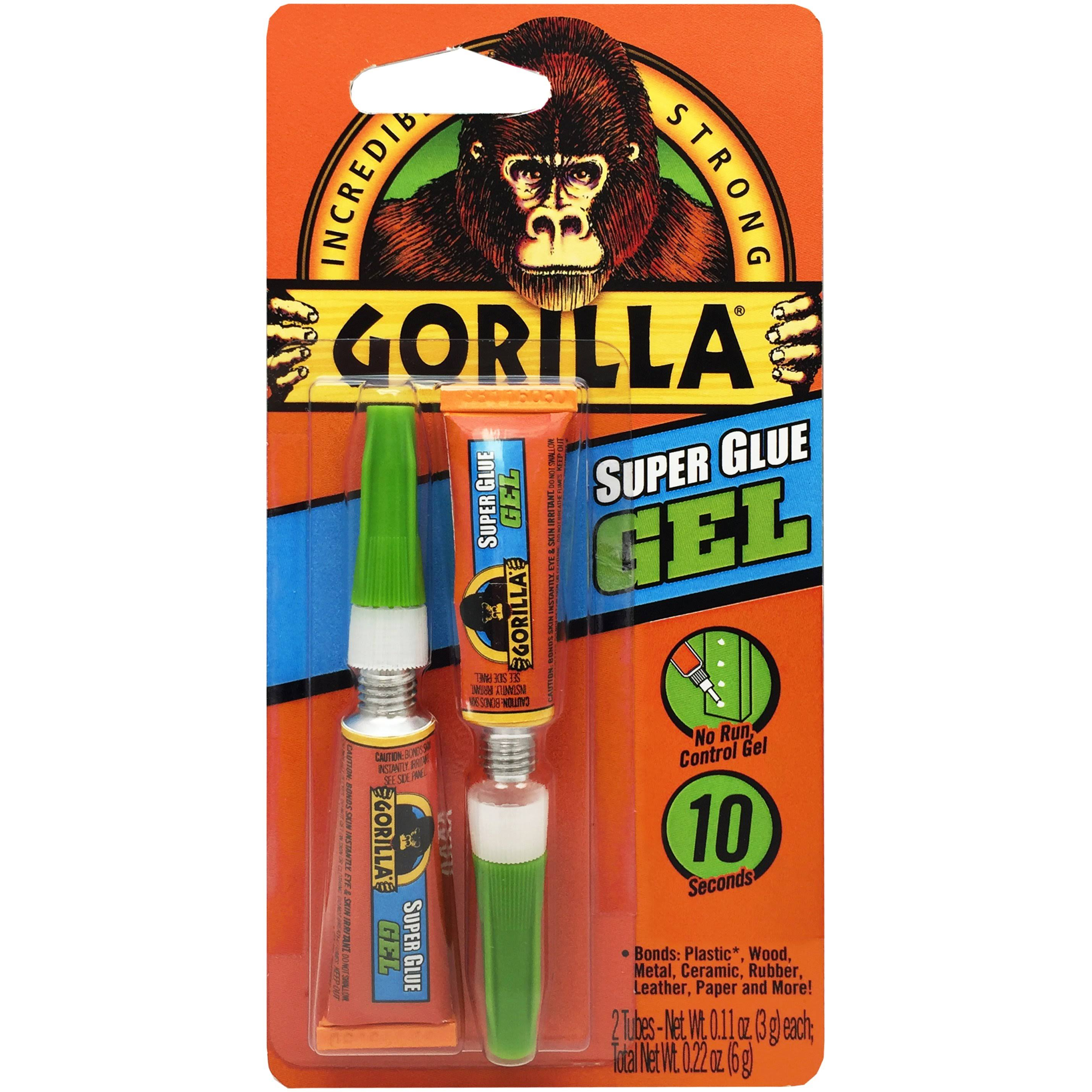 Gorilla 7820001 Super Glue Gel - 6g