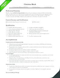 Sample Resume For Caregiver An Elderly Certified