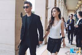 Huang Xiaoming And Angelababy Spotted In Paris Chinaorgcn