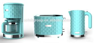 Kitchen Appliances Coffee Maker Toaster And Electric Kettle Set