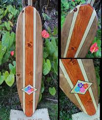 Decorative Surfboard With Shark Bite by Beautiful Made In Hawaii Artistic Surfboards Decorative