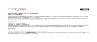 Bloomingdales Coupon Code Email Sign Up / Iphone 5 Contract Deals Uk How To Locate Bloomingdales Promo Codes 95 Off Bloingdalescom Coupons May 2019 Razer Coupon Codes 2018 Sugar Land Tx Pinned November 16th 20 Off At Or Online Via Promo Parker Thatcher Dress Clementine Womenparker Drses Bloomingdales Code For Store Deals The Coupon Code Index Which Sites Discount The Most Other Stores With Clinique Bonus In United States Coupons Extra 2040 Sale Items