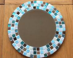 Brown Mosaic Bathroom Mirror by Red And Gold Mosaic Wall Mirror Mosaic Wall Pineapple And Wall