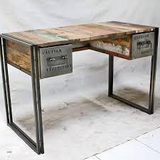 bureau industriel metal bureau bureau industriel bois et metal luxury bureau metal