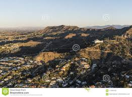 100 Hollywood Hills Houses Homes And Griffith Park Morning Aerial View