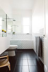 best 25 black bathroom floor ideas on hexagon tile