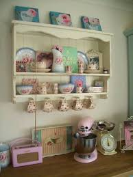 Collections Of Nation Type Crockery And Kitchen Equipment Are Good For A Shabby Stylish Interiordesign Kitchens Shabbychic