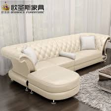 100 Modern Sofa For Living Room L Shaped Post Modern Italy Genuine Real Leather Sectional Latest Corner Furniture Living Room Sofa Set Designs F52
