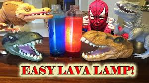 Homemade Lava Lamp Fish Tank by How To Make Lava Lamp For Dinosaurs Easy Science Experiment For