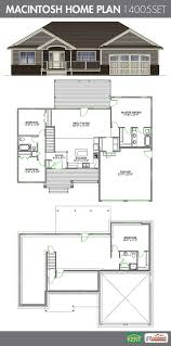 45 Ft Bathroom by Macintosh 4 Bedroom 3 Bath 1486 Sq Ft Home Plan Features